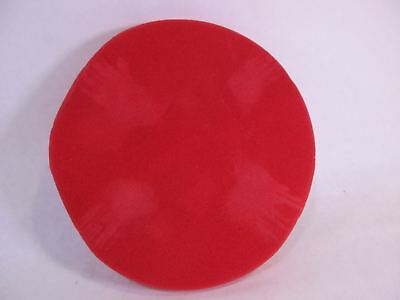 "Griot's Garage (10618) Red 6.5"" Foam Waxing Pad, 10618, Red, 10618"