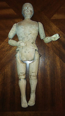 Spanish Colonial Santos, Articulating Santos, 19th Century Religious Figure