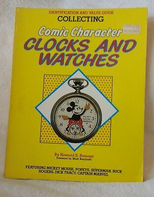 1987 Identification & Value Guide Collecting Comic Character Clocks and Watches
