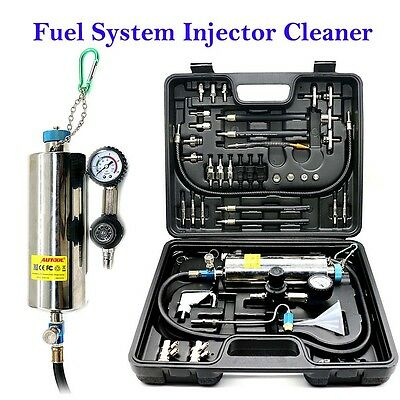 New AUTOOL C100 Auto Non-Dismantle Fuel System Injector Cleaner for Petrol EFI