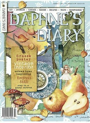 Daphne's Diary Magazine Issue 5 2017 with Free Mini Scrap Book - NEW