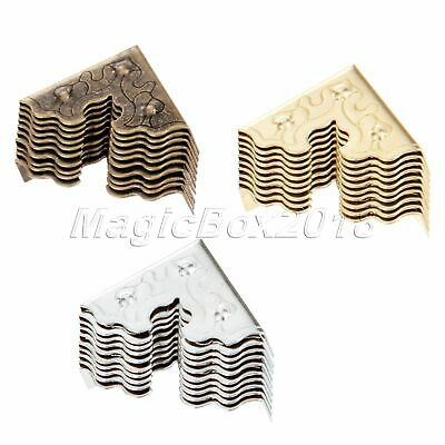 Fashion Decorative Table Wood Chest Case Box Edge Corner Guard Protectors 10pcs