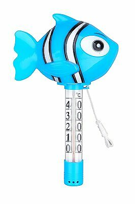 Poolthermometer / Pool Thermometer / Schwimmbadthermometer Fisch