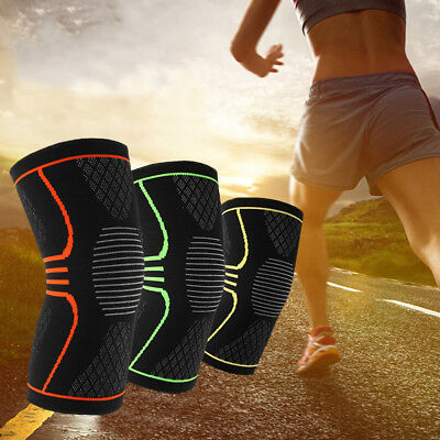 Basketball Running Gym Sports Knee Compression Joint Pain Relief Sleeve Support