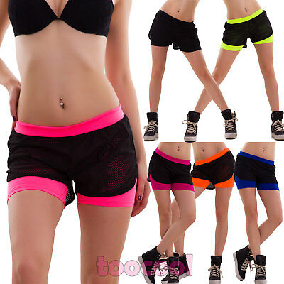 shorts network woman cover-up robe shorts swimwear fluo fitness new HM01