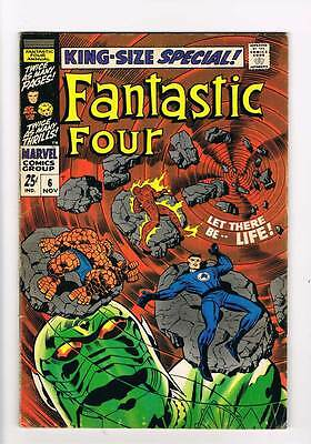 Fantastic Four Annual # 6  Birth of Franklin  grade 5.0 scarce book !!