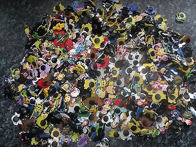 Lot of 30 mixed random boys jibbitz crocs wrist band shoe charms cake toppers