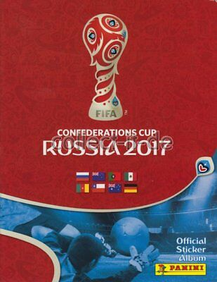 Panini - Confederations Cup 2017 - Sticker - 1 Album - Deutsch