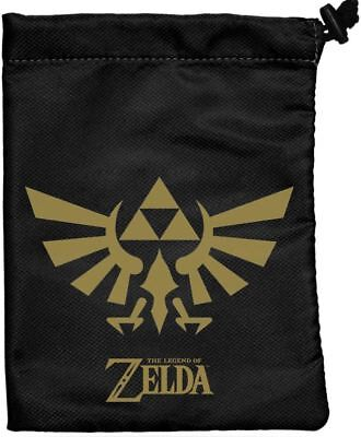 The Legend of Zelda TCG - Black & Gold Treasure Nest - Dice Bag