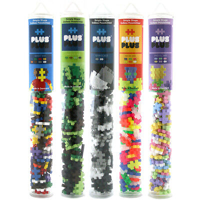 Plus-Plus Builder Tube (100 Piece) Choice of Sets NEW (One Supplied)