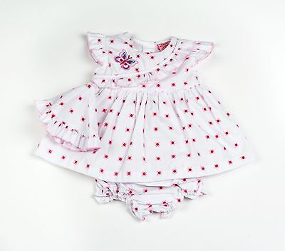 Baby Girl Clothes Dress pants hat  set Pink Floral 0 - 9 months Little-Miracles