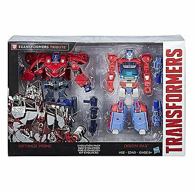 TransFormers Generations Titans Orion Pax Optimus Prime Evolution 2 Pack G1 Kup