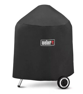 Weber 7149 Grill Cover with Black Storage Bag for Weber Charcoal Grills, 22.5-In