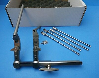 SYNTHES Surgical 397.084 Orthopedic Spine Lateral Distractor Set w/4 Attachment