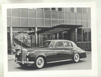 1959 ? Bentley S2 ORIGINAL Factory Photograph wy2726