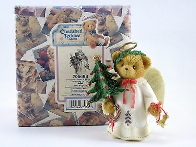 "LE Cherished Teddies ARIEL ""Everyone Needs a Little Help Learning to Fly"" Angel"