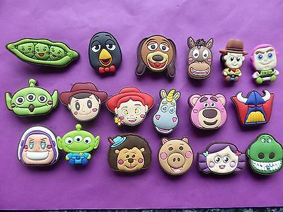 18 Toy Story Buzz Woody Jessie jibbitz crocs loom band shoe charms cake toppers