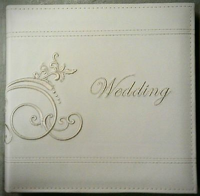Pioneer Photo Album Wedding 200 4x6 IVORY DA200EMPW Artificial Leather and Book