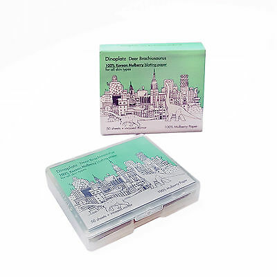 Too Cool For School 100% Korean Mulberry Blotting Paper Pact  In cased Mirror