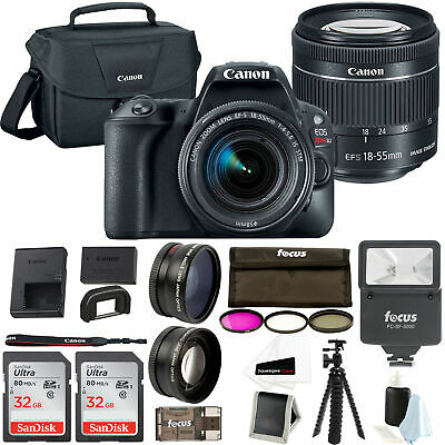 Canon EOS Rebel SL2 SLR Camera w/ 18-55mm f/4 STM Lens + 64GB & Supreme Bundle