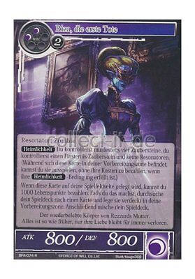 Force of Will TCG - BFA-074 Riza, die erste Tote