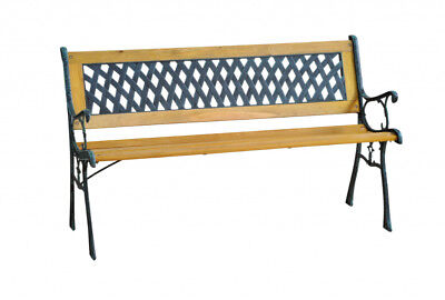 SupaGarden Garden Bench Cross Slat Design