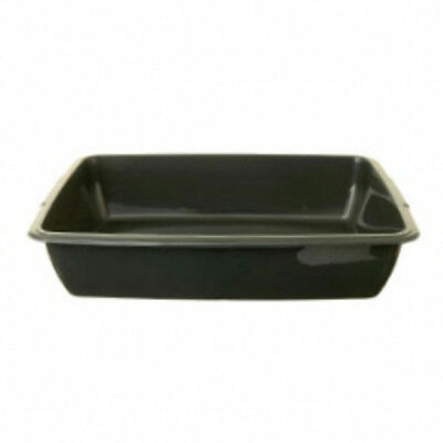 Whitefurze 42cm Cat Litter Tray Assorted