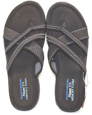 a9a70df65c82 Skechers Relaxed Fit Memory Foam 38913 Black US Size 7 - FREE SHIPPING  BRAND NEW