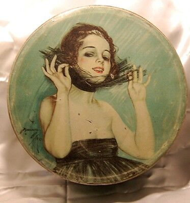 Deco Tin with  Harrison Fisher Design