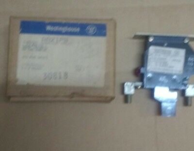 Westinghouse Aa21Pb Size 2 Overload Relay, Single Pole 371D599G10 *nos*
