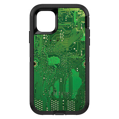 OtterBox Defender for iPhone 7 8 PLUS X XS Max XR Green Circuit Board