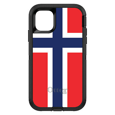 OtterBox Defender for iPhone 7 8 PLUS X XS Max XR Norway Flag