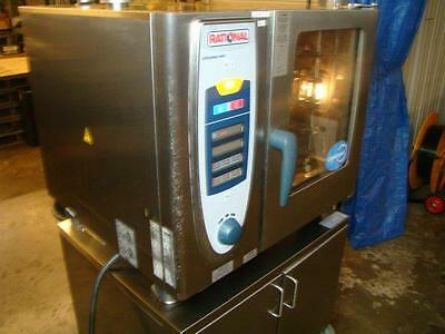 Rational SCC 61  Electric Combi Steamer Oven w/ Stand.......Watch Video Demo