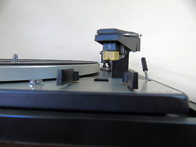 DUAL 1225 TURNTABLE with SHURE M91ED Cartridge & HiTRACKER STYLUS -- SERVICED --