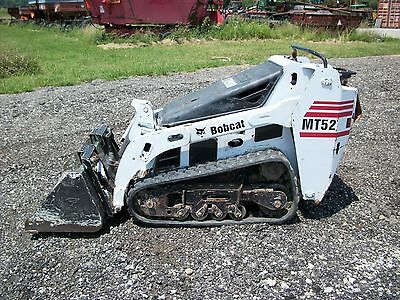 Bobcat MT52 walk behind skid steer, Kubota Diesel, 2 machines available
