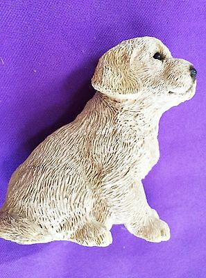 "Golden Retriever Puppy by Living Stone Collectible 5""T x4""L x3""W Fast Shipping"