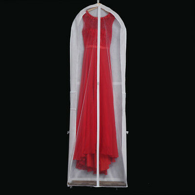 Multifunctional Long Garment Cover Bridal Dresses Storage Bag Dust-proof Pouch
