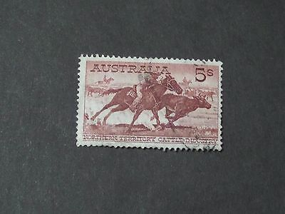 Aust Stamps 1961 Northern Territory Cattle Industry 5s - used