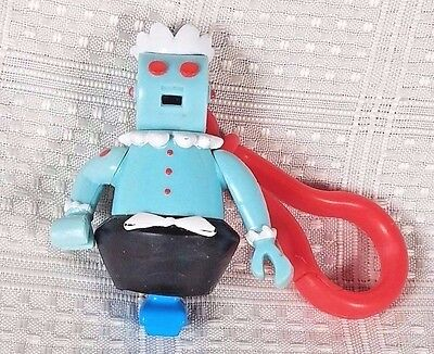 2000 The Jetsons ROSIE THE ROBOT Key Chain Clip Jack in the Box 3""
