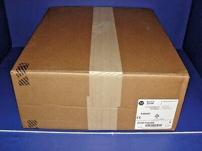 2017 FACTORY SEALED Allen Bradley PanelView Plus 6 1500 2711P-T15C4D8