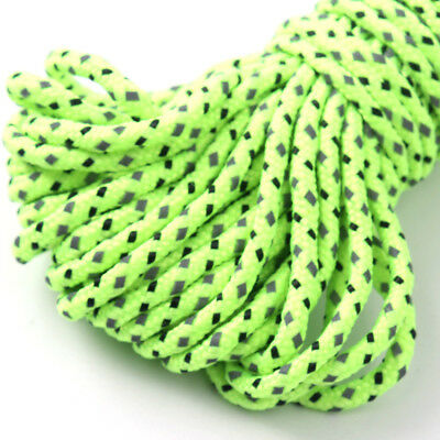 20M Reflective Guyline Camping Tarp Tent Rope Runners Guy Line Cord Paracord