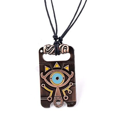 Necklace Pendant Cosplay - The Legend of Zelda Sheikah Slate Breath of the Wild