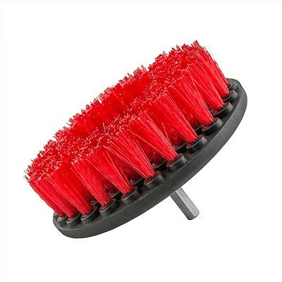 Chemical Guys Carpet Brush with Drill Attachment, Heavy Duty, Red - ACC_201_HD