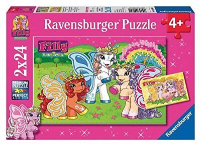 "Ravensburger 09089 - 2 puzzle ""Filly favolosa"", 24 pezzi"