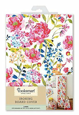Cooksmart Floral Romance Ironing Board Cover Medium, Large or X Large