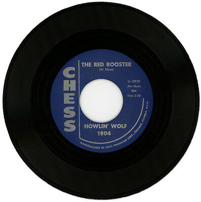"""Howlin' Wolf  """"the Red Rooster""""  Original Version Of The 'stones' 45"""