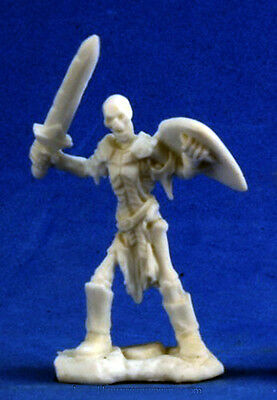 1 x SQUELETTE SWORD GUARDIAN - BONES REAPER figurine miniature jdr rpg skeleton