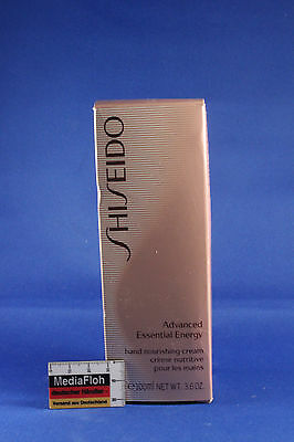 SHISEIDO Advanced Essential Energy Hand Nourishing Cream Pflege Creme 100ml