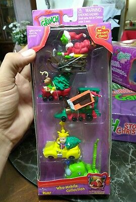 How The Grinch Stole Christmas Who-Mobile Collection Die-Cast Chassis 2000 Nib