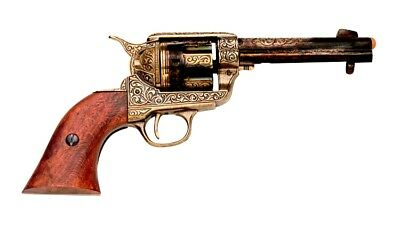 Denix Replica M1873 Fast Draw Peacemaker Gold Patina